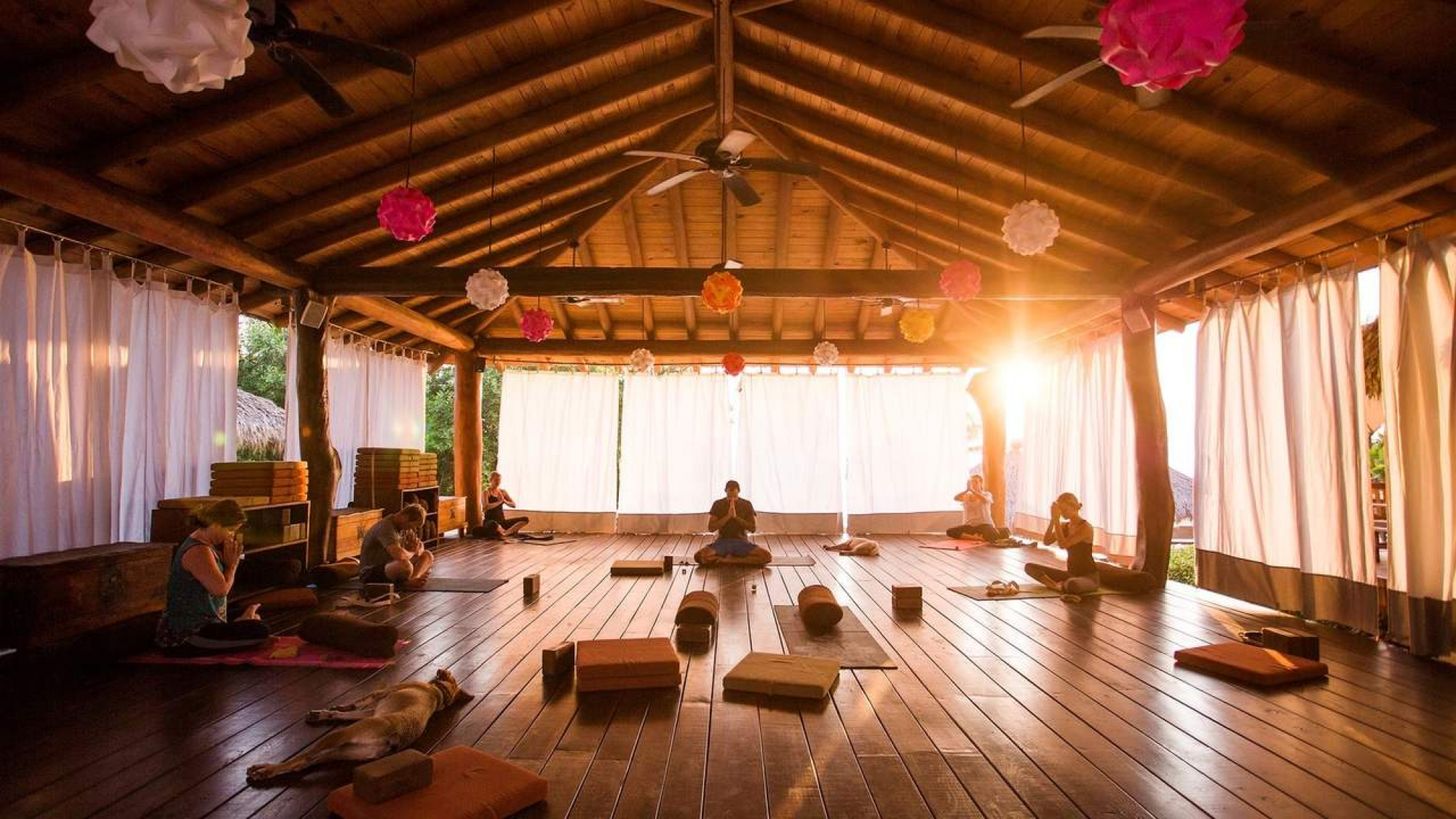 Yoga retreat and teacher training