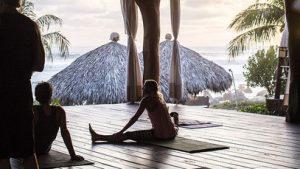 Yoga class retreats