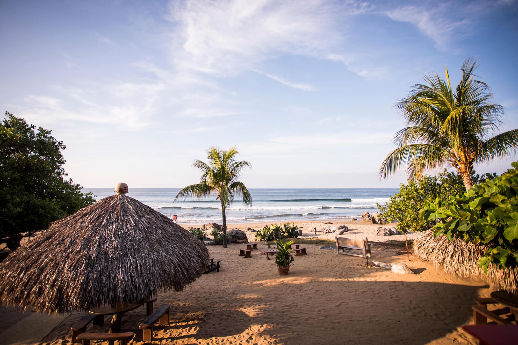 Present Moment Retreat view of beach