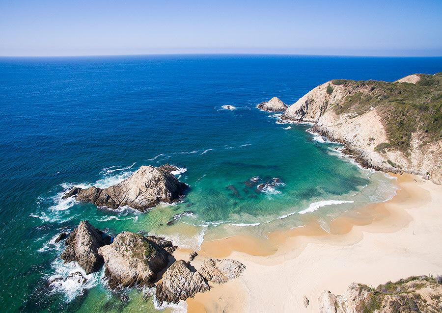 Ocean in mexico